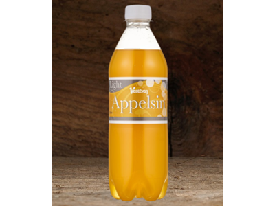 Appelsin light 50 cl 9 stk