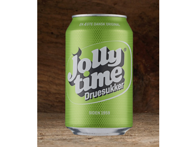 Jolly Time dåse 33 cl. 18 stk.