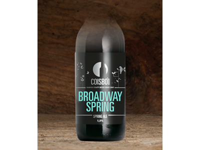 Coisbo Broadway Spring 33 cl. 24 stk.