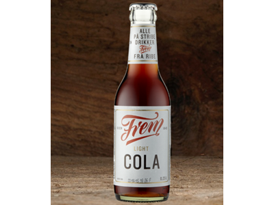 Frem Cola Light 25 cl. 24 stk.