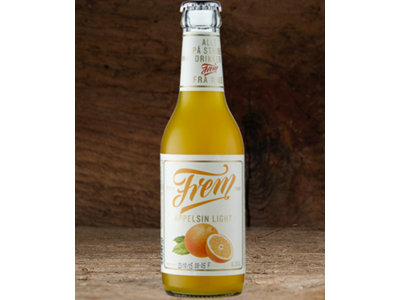 Frem Appelsin Light 25 cl. 24 stk.